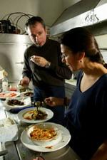 Reviews of greek restaurants in new york christos valtzoglou and dianne kochillas of pylos greek taverna in nyc publicscrutiny Gallery
